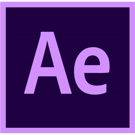 After Effects for enterprise Multiple Platforms EU English Enterprise Licensing Subscription New Monthly 1 Month
