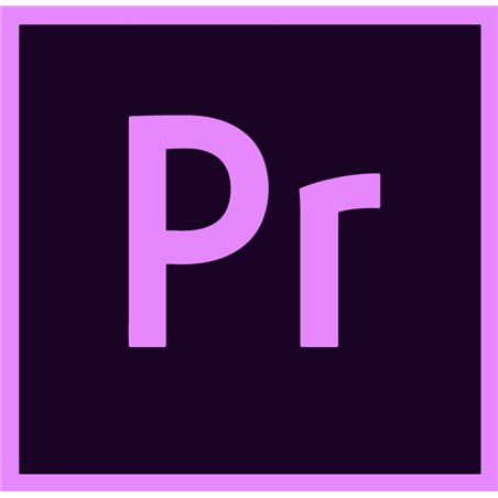 Adobe Premiere Pro for enterprise Multiple Platforms EU English Enterprise Licensing Subscription Renewal Monthly 1 Month