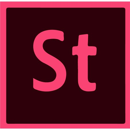 Adobe Stock for teams (Other) Multiple Platforms EU English Team Licensing Subscription Renewal Monthly 1 Month